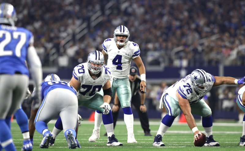 Most NFL quarterbacks starting in the playoffs are established stars earning tens of millions. Not Cowboys rookie Dak Prescott, who has a base salary of $450,000 this year.