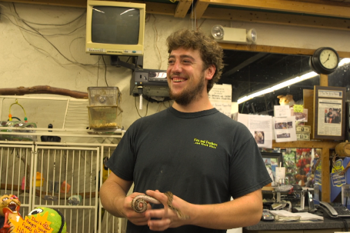 He Started Running His Own Pet Store at Age 22, and Business Is Booming
