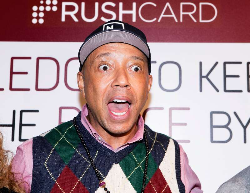 RushCard founder Russell Simmons attends the RushCard Keep The Peace LA  event at Susan Miller Dorsey High School on February 4, 2015 in Los Angeles.