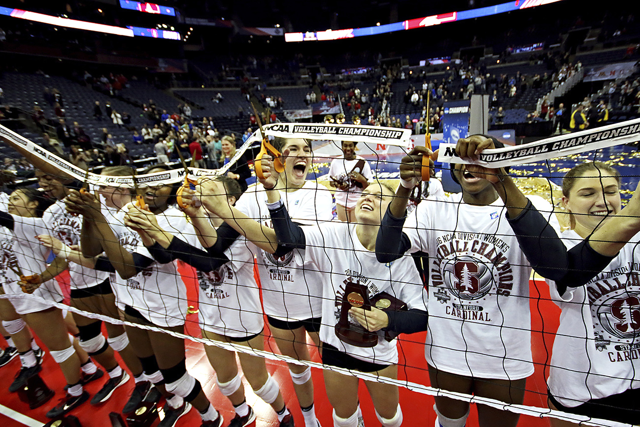 Texas Stanford NCAA Championship Volleyball