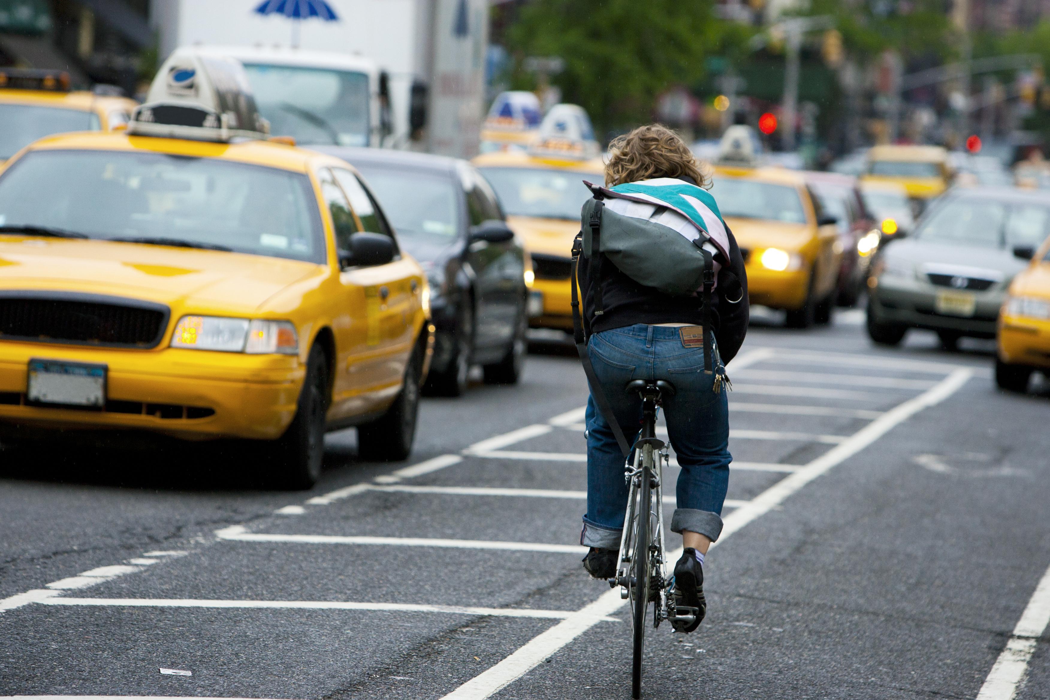New York City Bike Courier