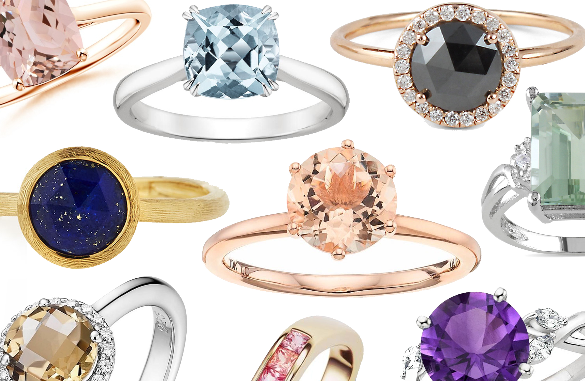 9 Non-Traditional Engagement Rings That Won't Break the Bank