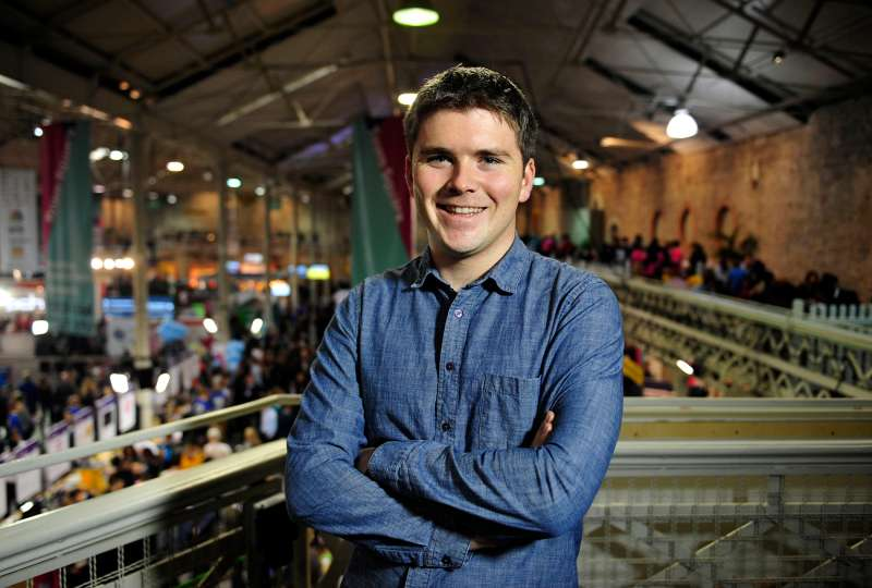 John Collison, co-founder and president of Stripe Inc.