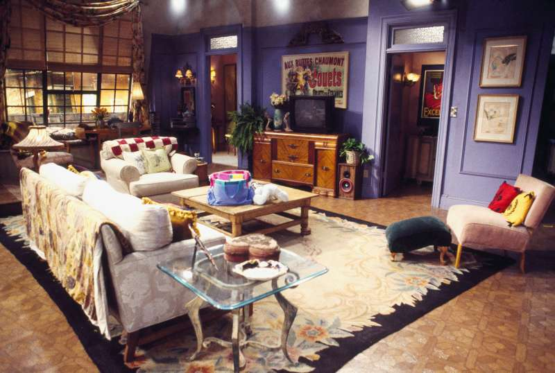 FRIENDS -- Pictured: Set of Monica Geller's apartment in  Friends   (Photo by Gary Null/NBC/NBCU Photo Bank via Getty Images)