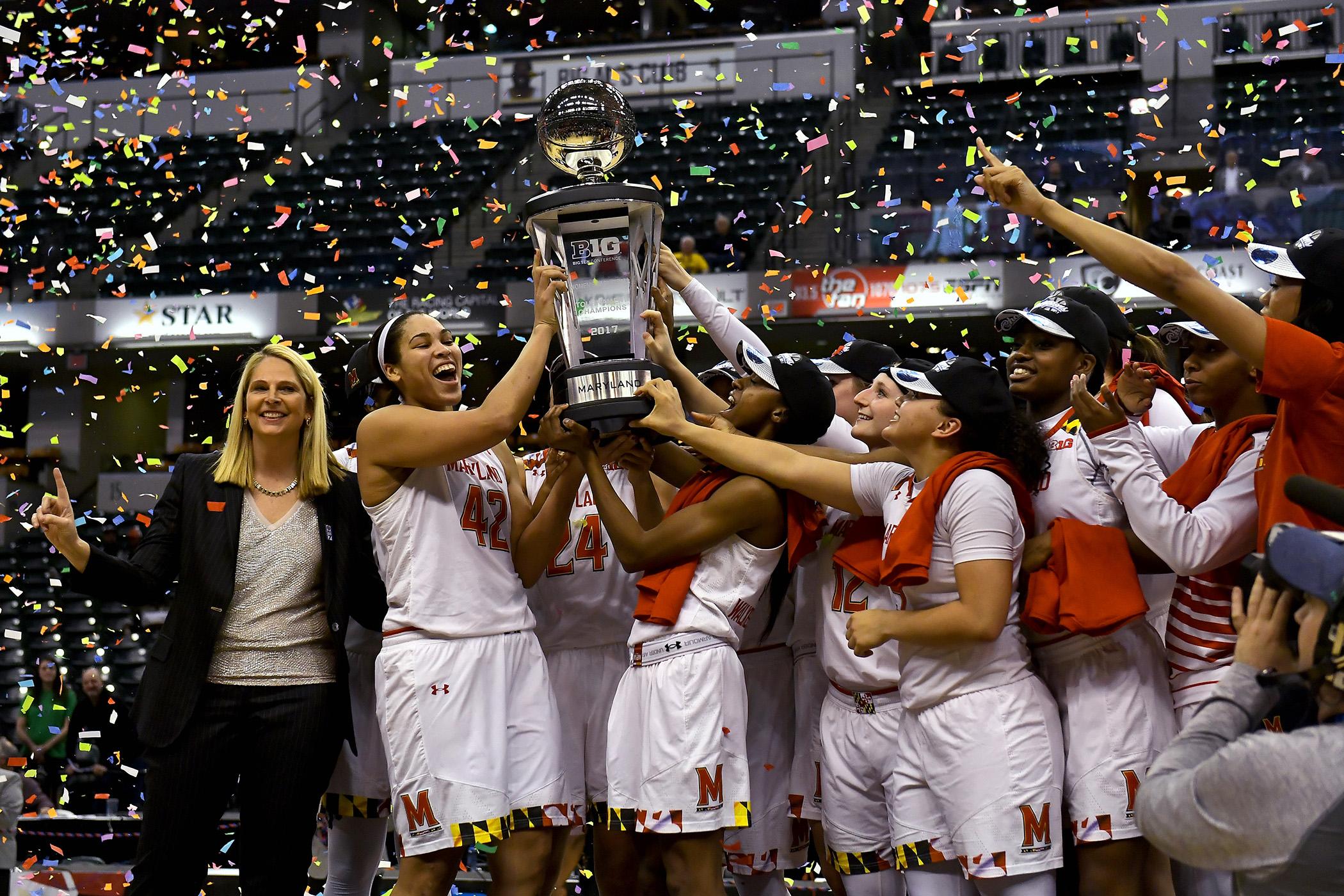 Women's Big Ten Tournament finals pits Maryland against Purdue