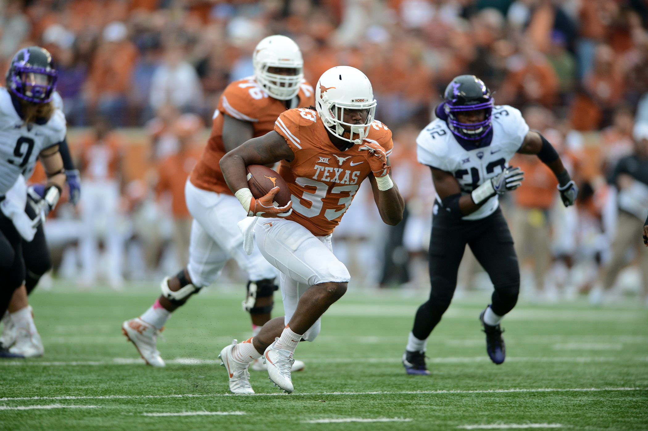 NCAA FOOTBALL: NOV 25 TCU at Texas