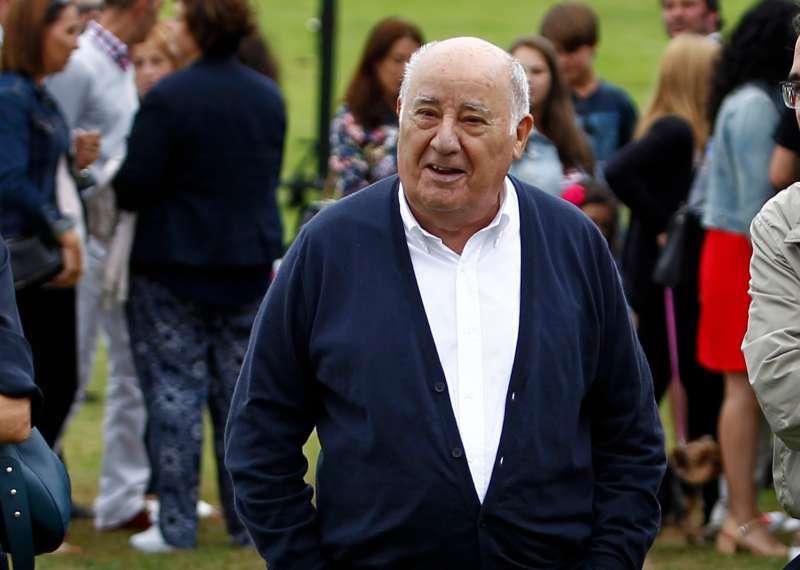 Amancio Ortega, founding shareholder ofInditexfashion group, best known for theclothing retailer Zara.