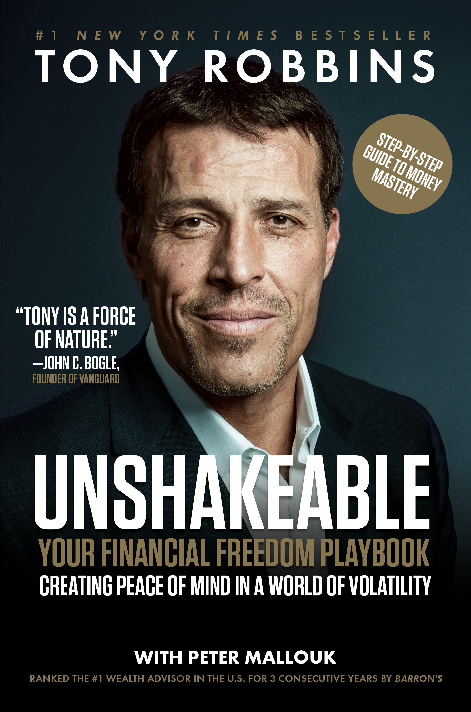 Unshakeable cover image Tony Robbins book