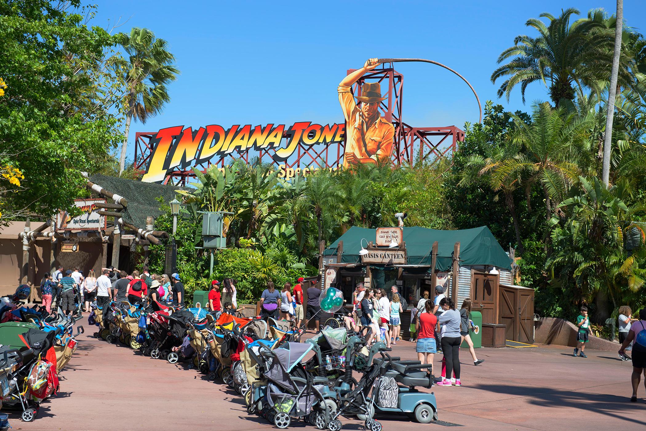 Indiana Jones Epic Stunt Spectacular, Disney World, Orlando, Florida