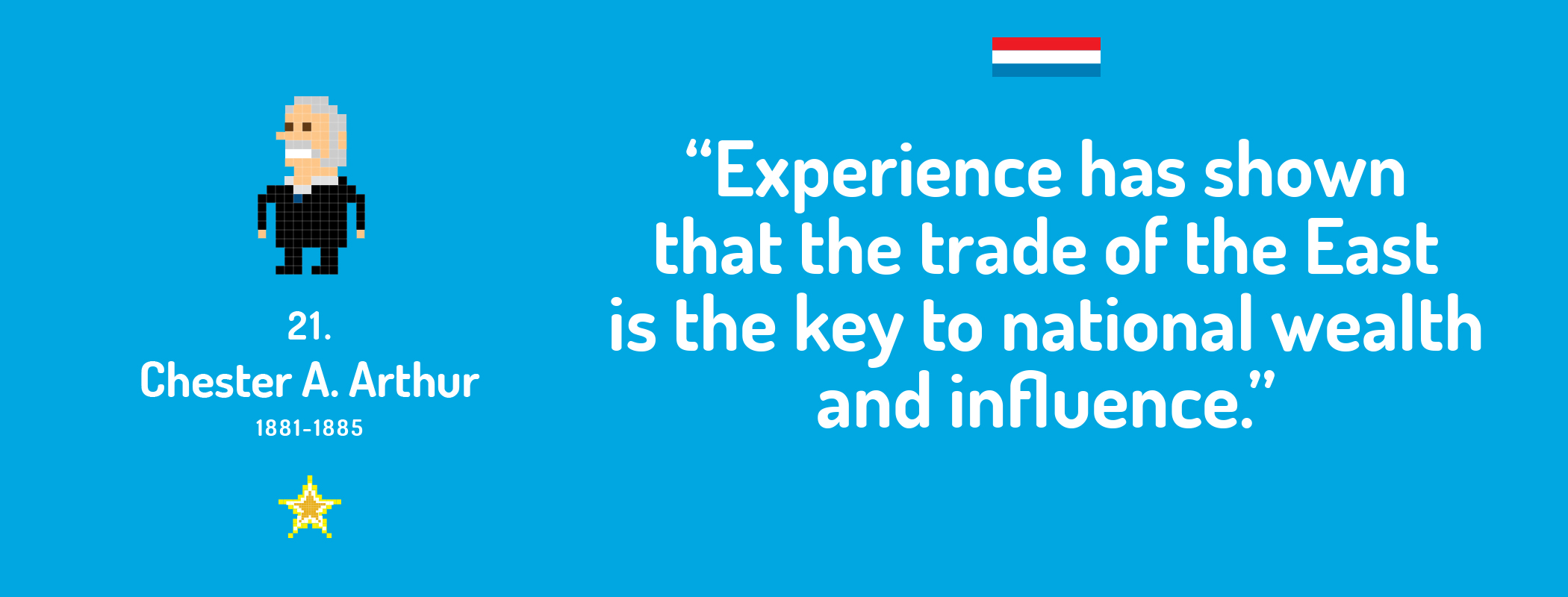 Experience has shown that the trade of the East is the key to national wealth and influence.