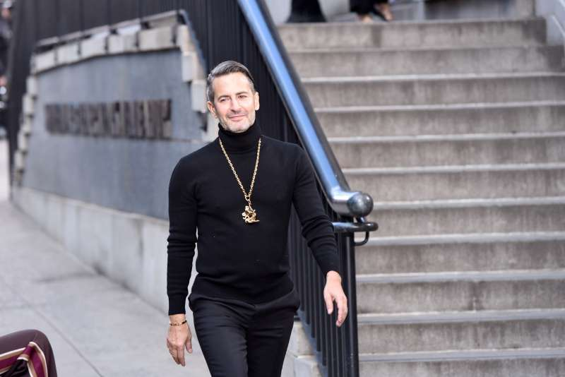 Designer Marc Jacobs walks the runway at the Marc Jacobs Fall 2017 Show at Park Avenue Armory on February 16, 2017 in New York City.
