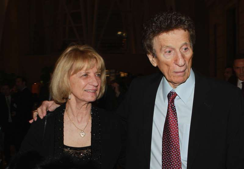 Detroit Red Wing owners Marian and Mike Ilitch walk the red carpet prior to the Hockey Hall of Fame induction ceremony on November 8, 2010 in Toronto, Canada.