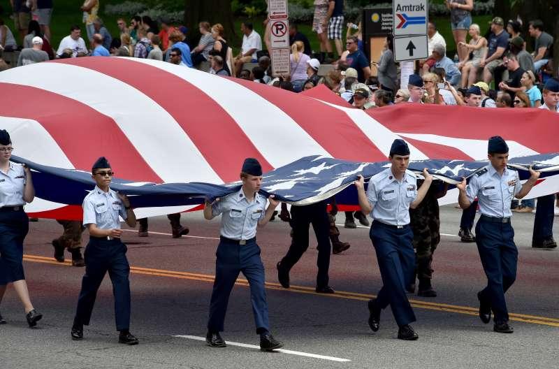 Memorial Day Parade in Washington, D.C., 2016.