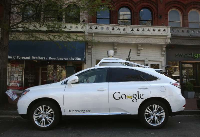 Google is one of many companies investing in self-driving car technology.