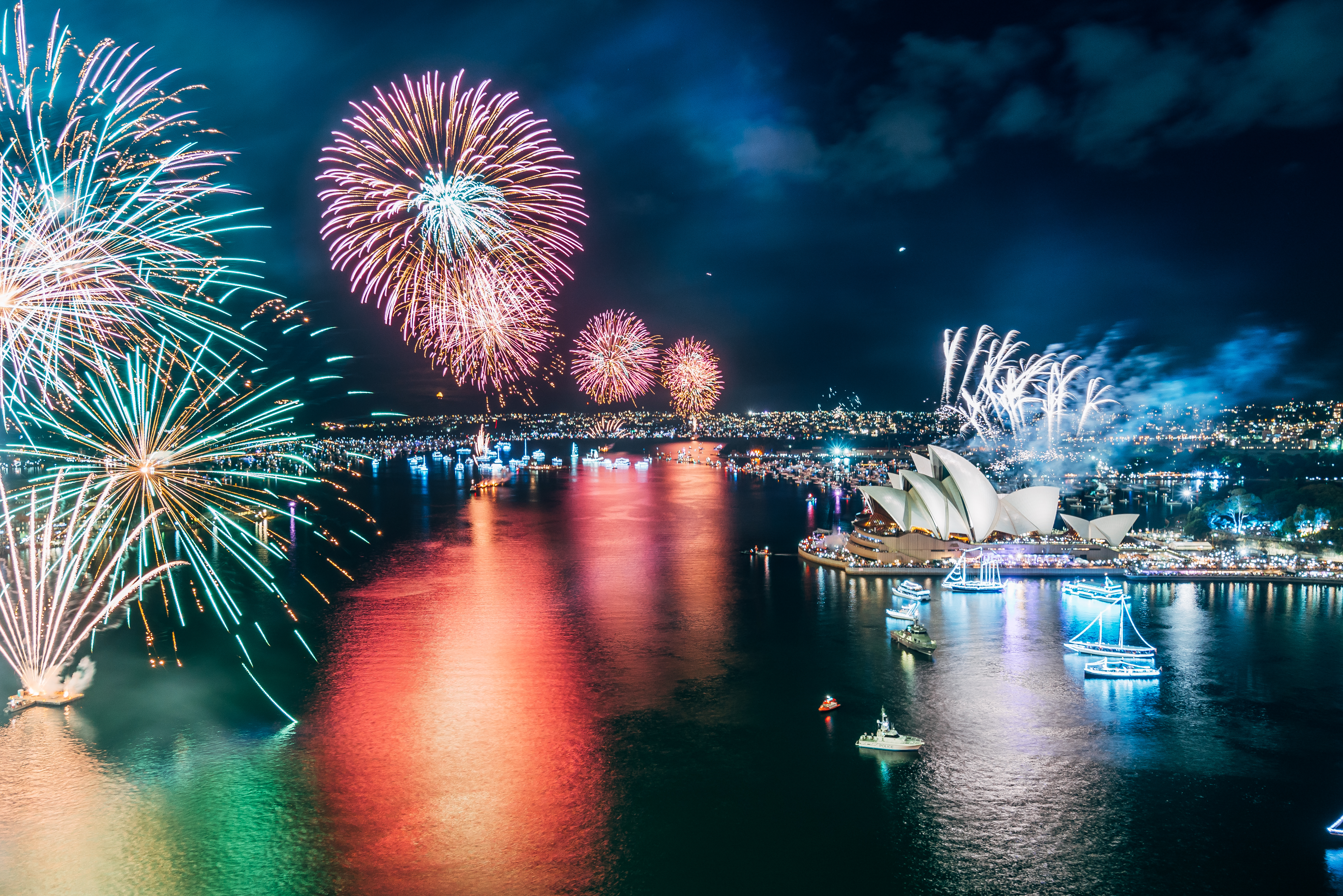 Sydney - New Year's Eve Fireworks 2015/16