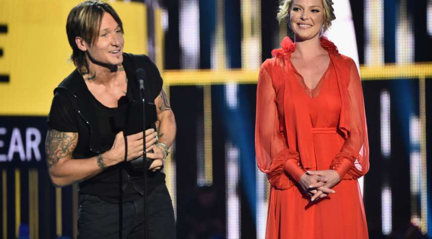 Keith Urban performs onstage during the 2017 CMT Music Awards at the Music City Center on June 6, 2017 in Nashville, Tennessee.