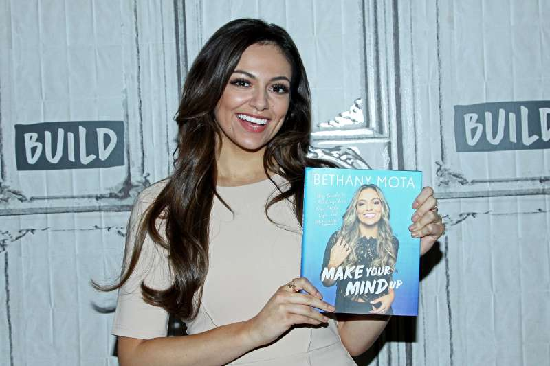 NEW YORK, NY - JUNE 14:  Build presents Bethany Mota discussing her new book  Make Your Mind Up  at Build Studio on June 14, 2017 in New York City.  (Photo by Steve Mack/FilmMagic)