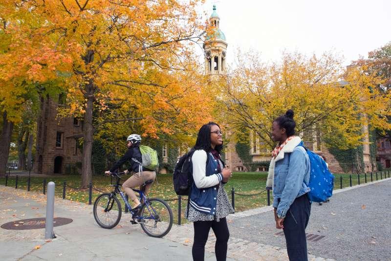 Cannon Green and Chapel Drive, Princeton University