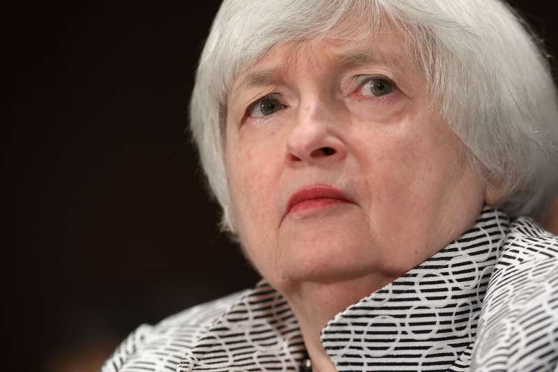 Federal Reserve Board Chairwoman Janet Yellen testifies before the Senate Banking, Housing and Urban Affairs Committee on July 13, 2017.