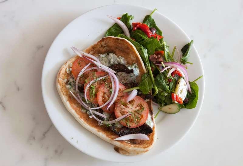 Green Chef's Portobello Mushroom Gyros