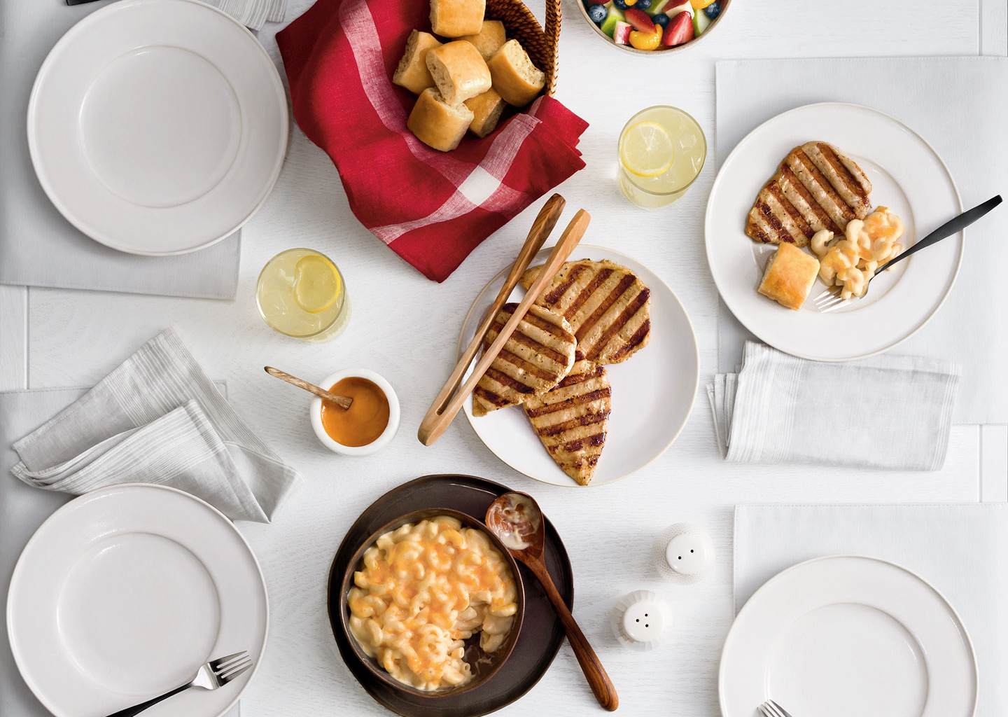 Chick-fil-A family meal.