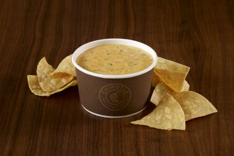 Chipotle is rolling out queso dip at a test store.