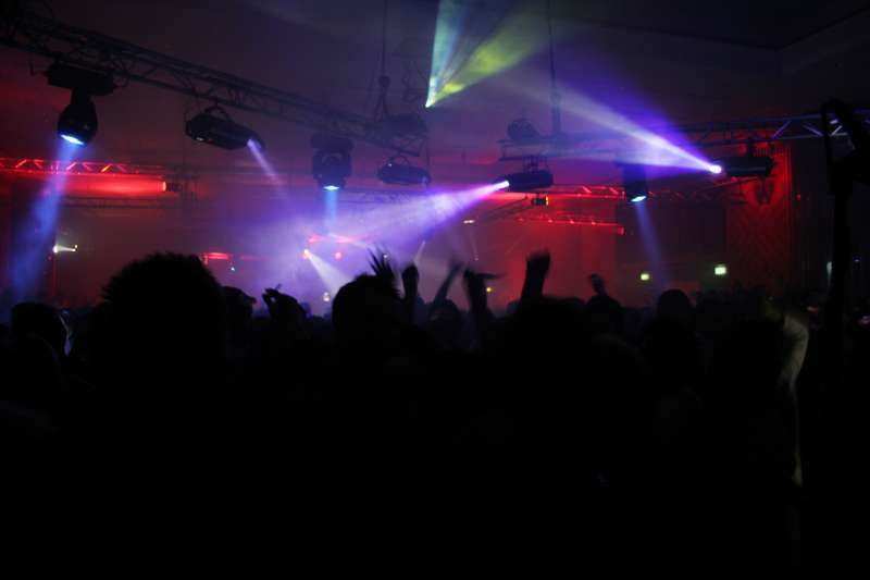 Nightclub in Dubai, UAE.