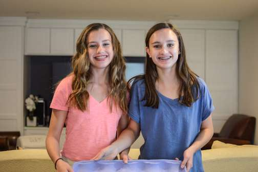 How These Teenage Sisters Turned a $25 Science Experiment Into a Successful Company — All Before They Graduated High School