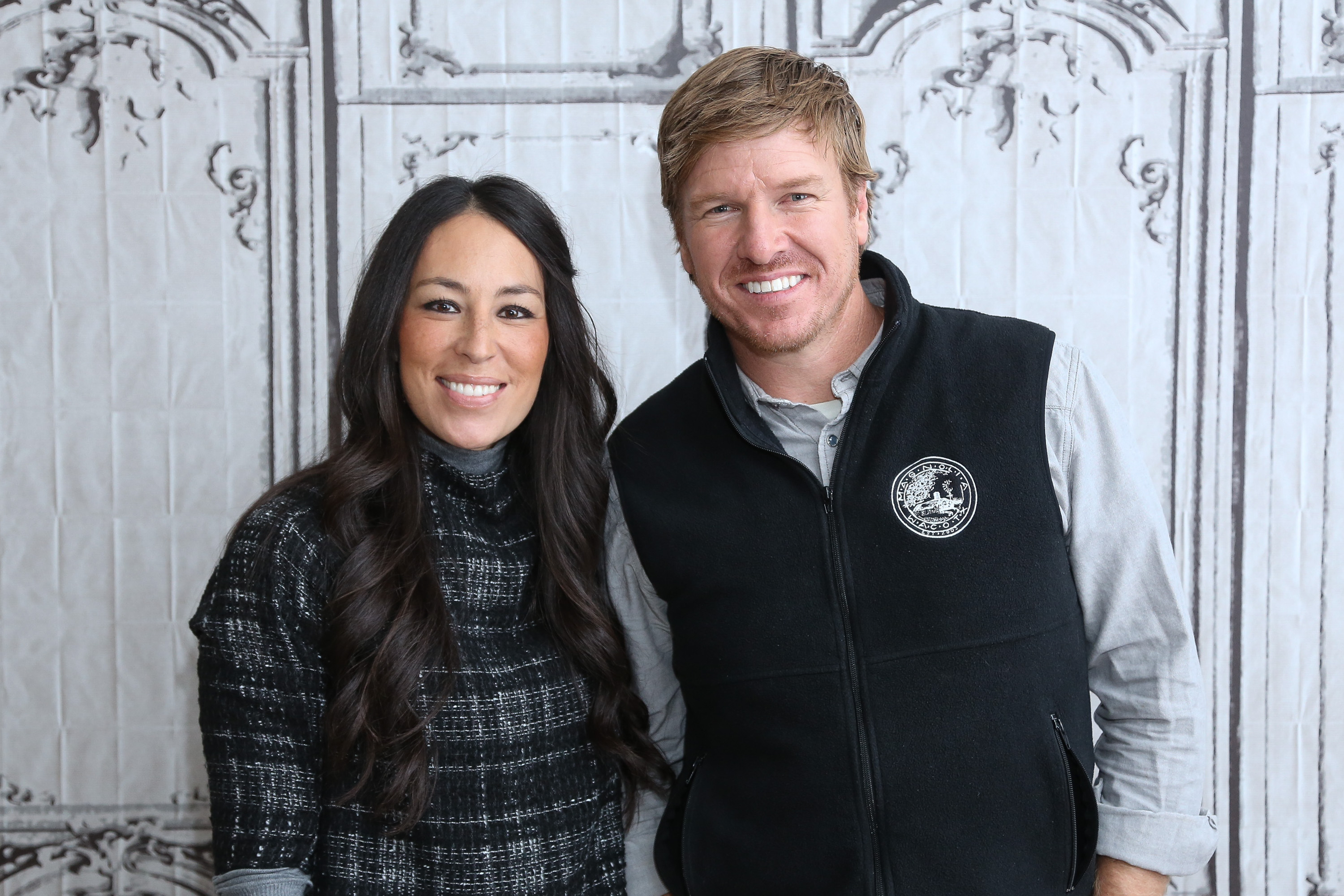 NEW YORK, NY - DECEMBER 08:  Real estate pros Chip Gaines (R) and Joanna Gaines attend AOL Build Presents:  Fixer Upper  at AOL Studios In New York on December 8, 2015 in New York City.  (Photo by Rob Kim/Getty Images)
