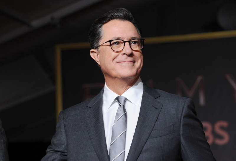 Stephen Colbert attends the 69th Emmy Awards press preview day at Microsoft Theater on September 12, 2017 in Los Angeles, California.