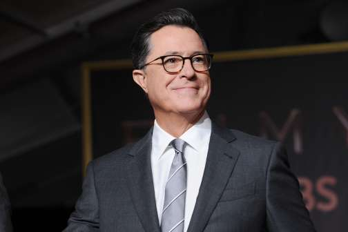 Stephen Colbert Is Hosting the 69th Emmy Awards. Here's How Much He's Worth