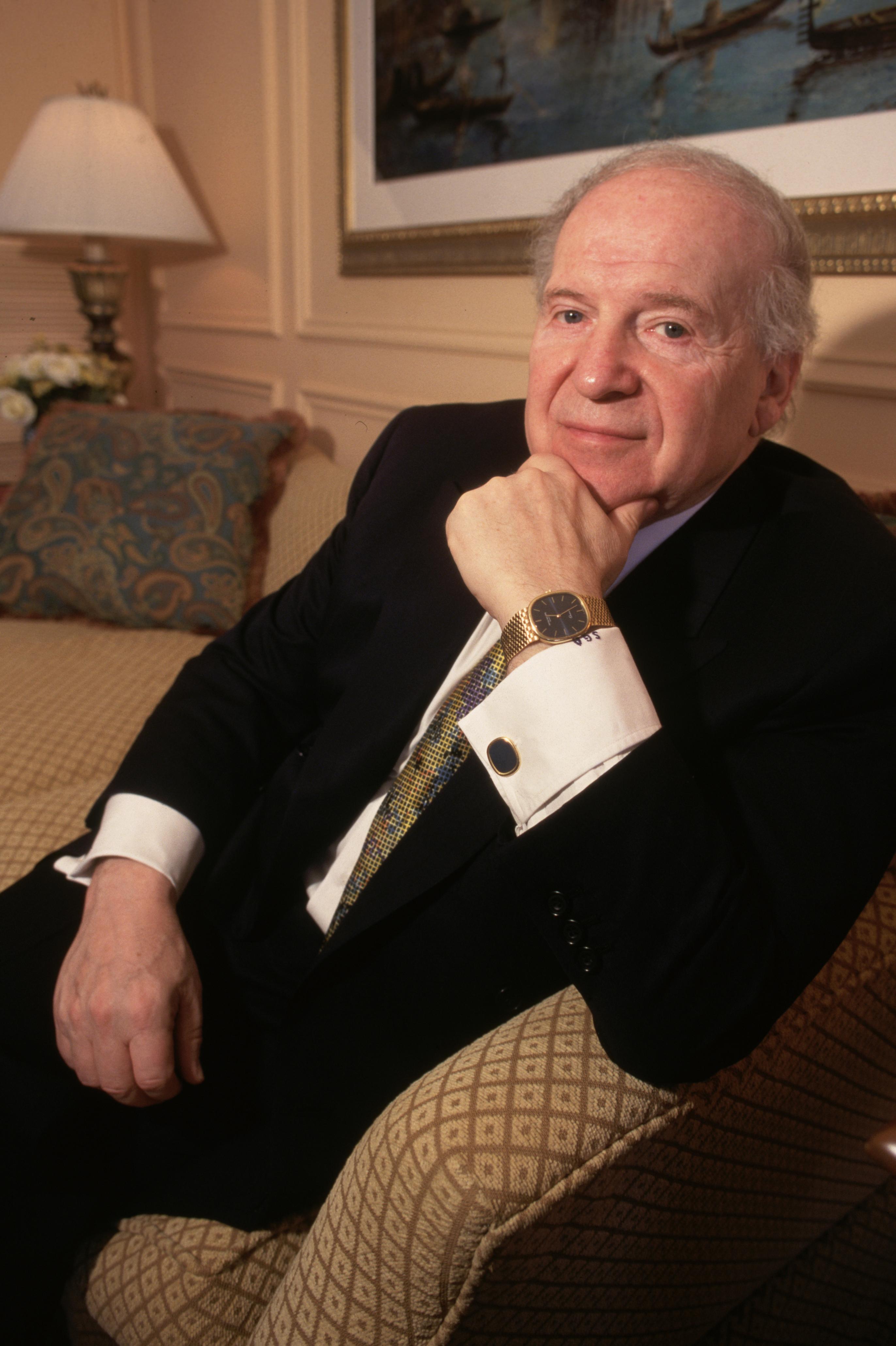 Las Vegas Sands Executive Sheldon Adelson Reclining
