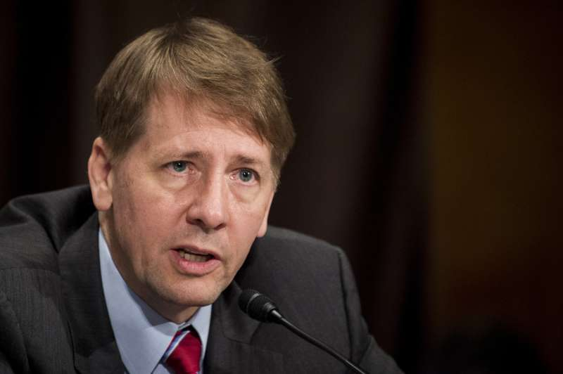 Richard Cordray, director of the Consumer Financial Protection Bureau