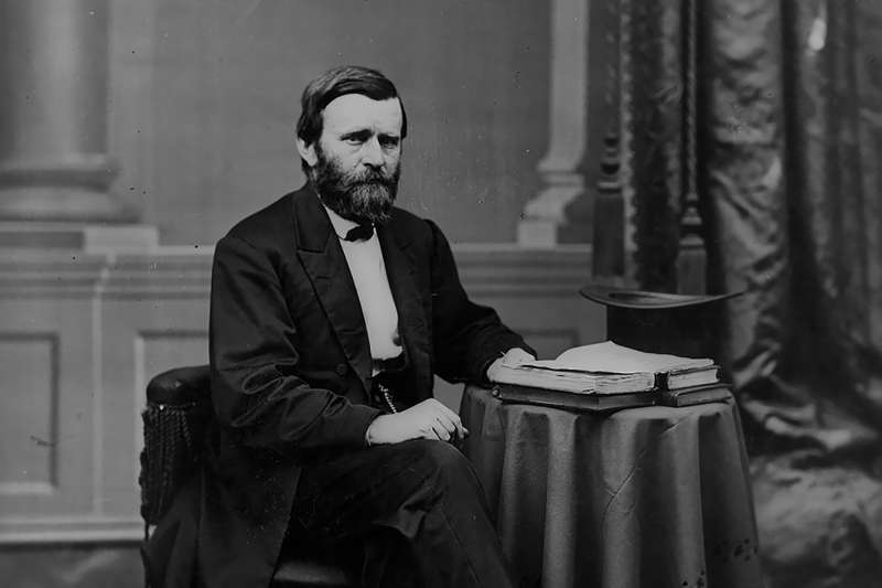 Ulysses S. Grant, United States general and president.