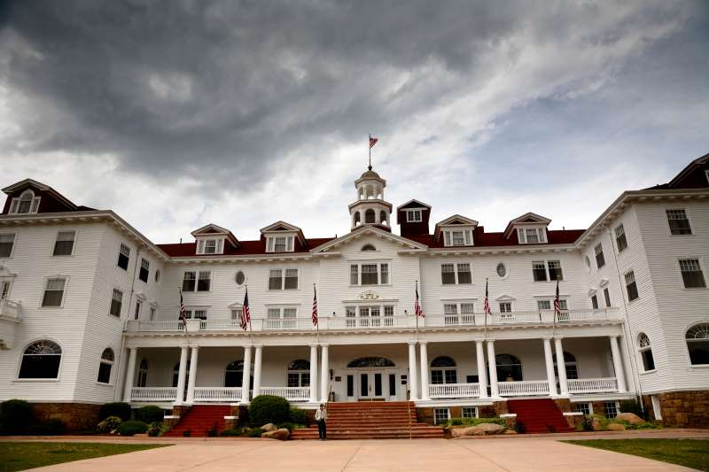 Haunted Stanley Hotel, Estes Park, Colorado