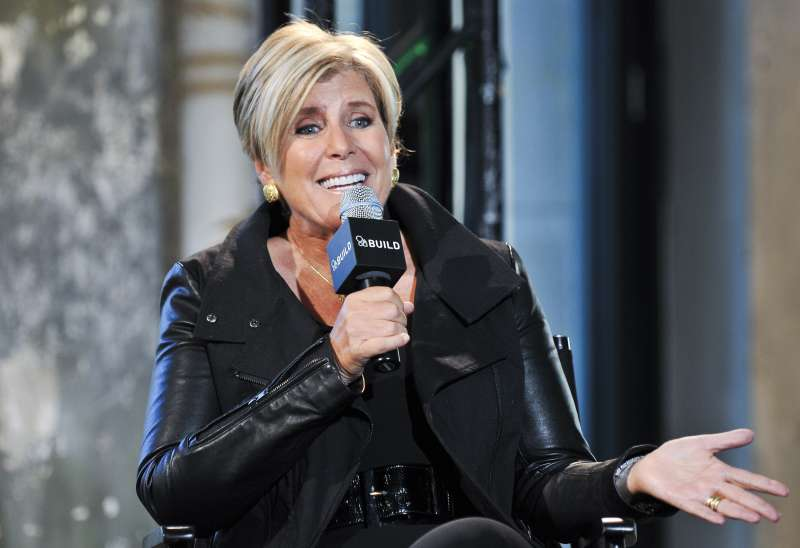 Suze Orman speaks during AOL's BUILD Speaker Series at AOL Studios In New York on November 4, 2014 in New York City.