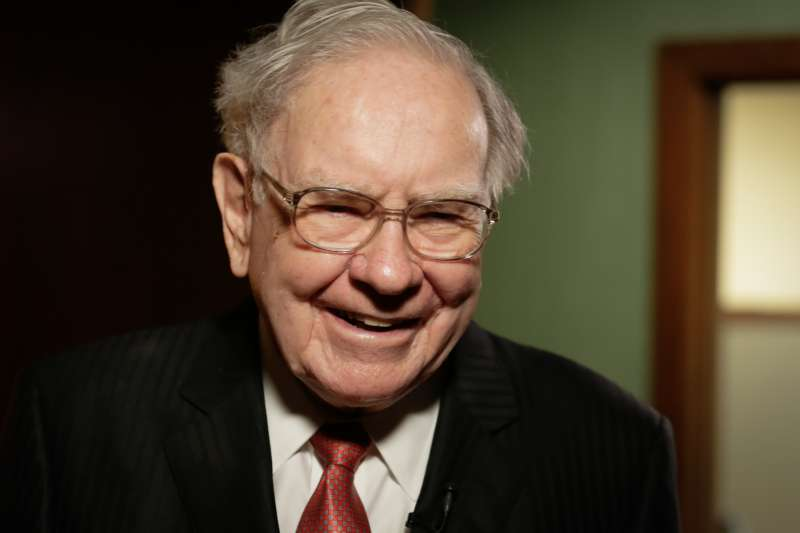 Warren Buffett in his office in Omaha, Nebraska, on August 4, 2015.