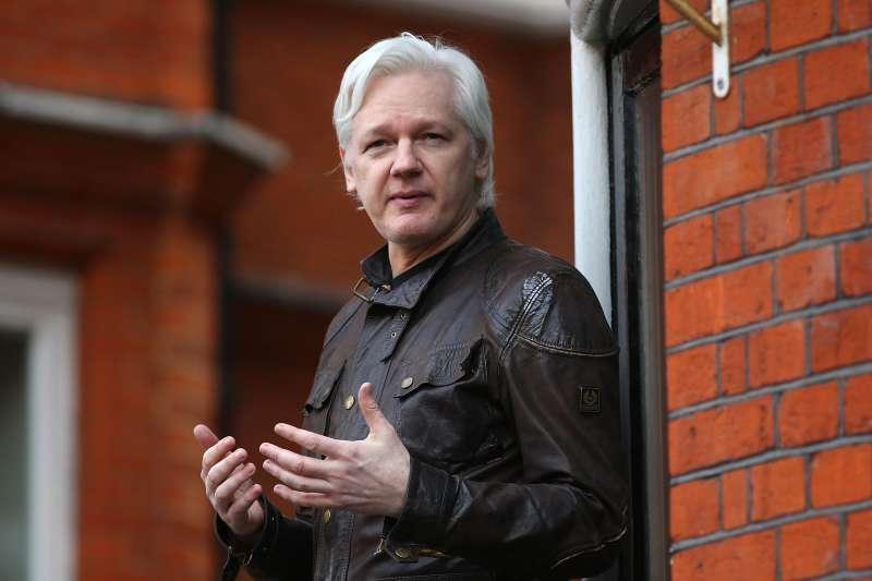 Julian Assange, founder of Wikileaks, in London in May 2017.