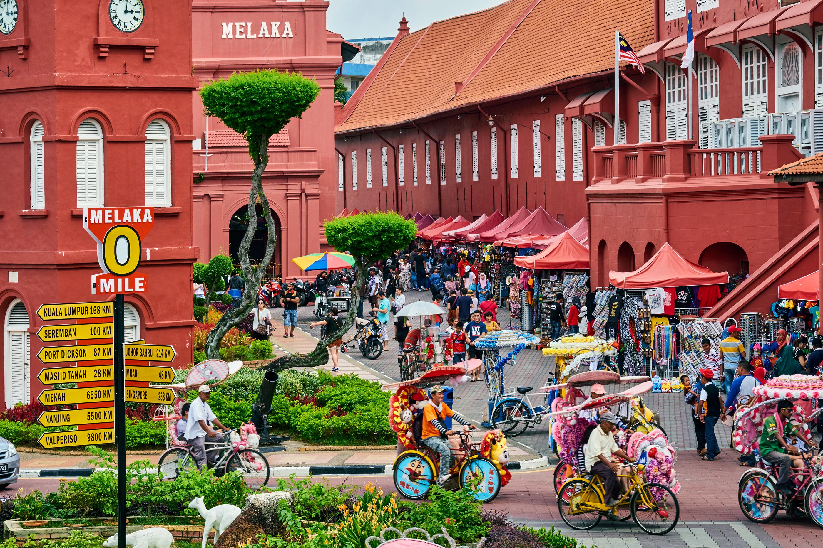 City square, Malacca, Unesco Wold Heritage, Malaysia