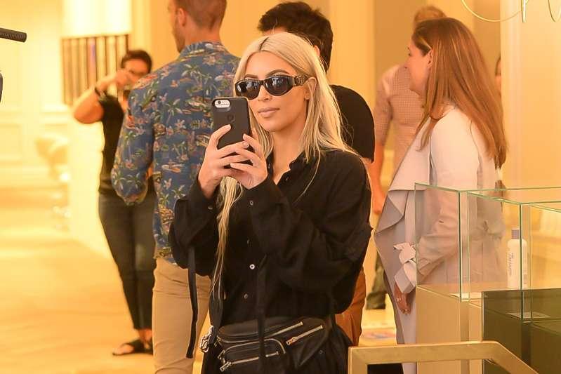 Kim Kardashian is seen in Soho  on September 9, 2017 in New York City.