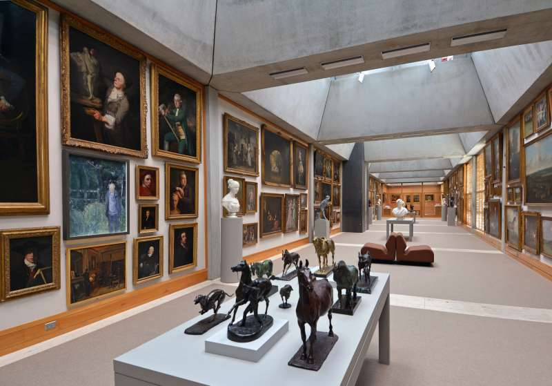 Day trippers can explore rare manuscripts, medieval maps, and the largest collection of British art outside of the U.K. at the Yale Center for British Art.