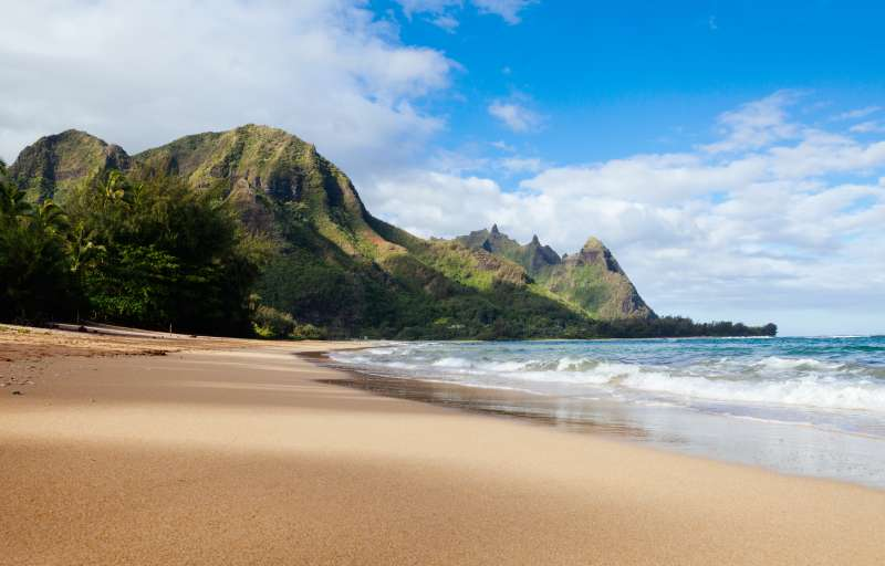 North shore of Kauai, Hawaii.