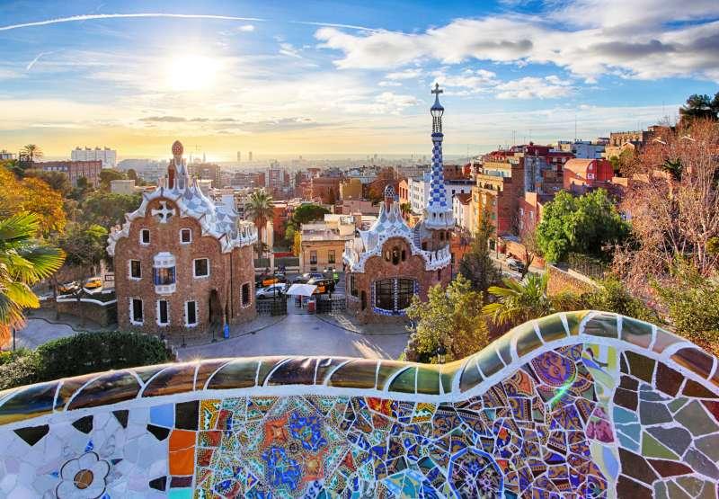 Barcelona - Park Guell, Spain