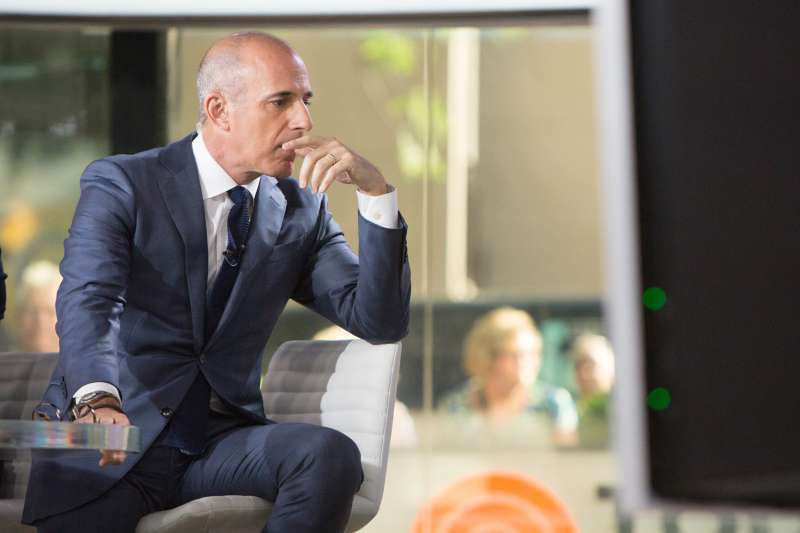 Matt Lauer on Friday, June 30, 2017 at the NBC studios.