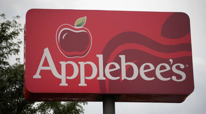 AUG. 10:  An Applebee's restaurant in Chicago, Illinois. DineEquity, the parent company of Applebee's and IHOP, plans to close up to 160 restaurants in the first quarter of 2018.
