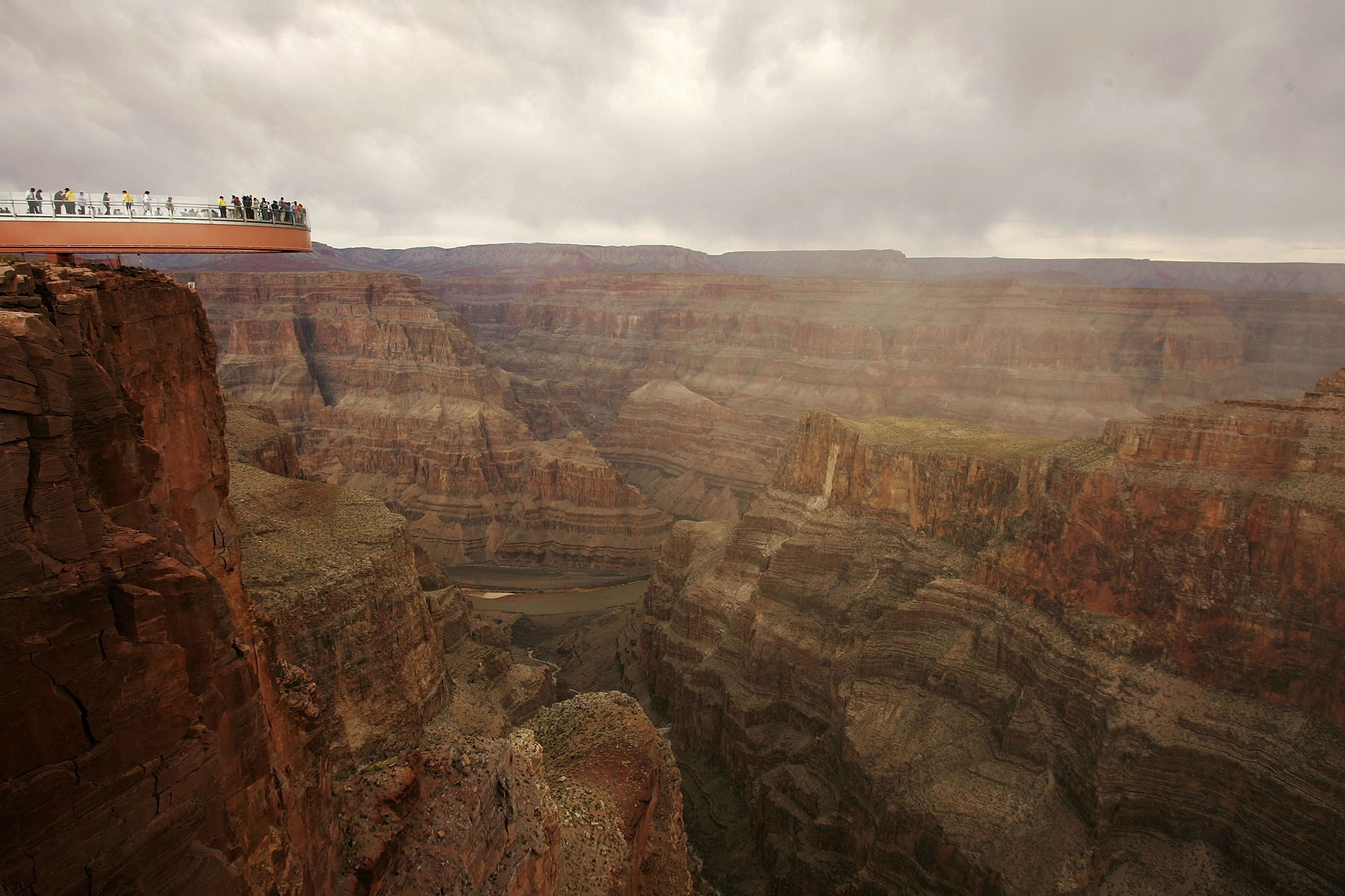"Grand Canyon's New ""Skywalk"" Opens With Grand Ceremony"