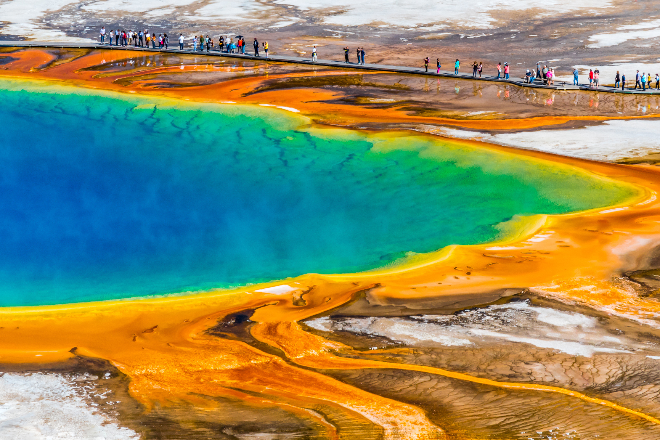 Natural Wonders-Grand Prismatic