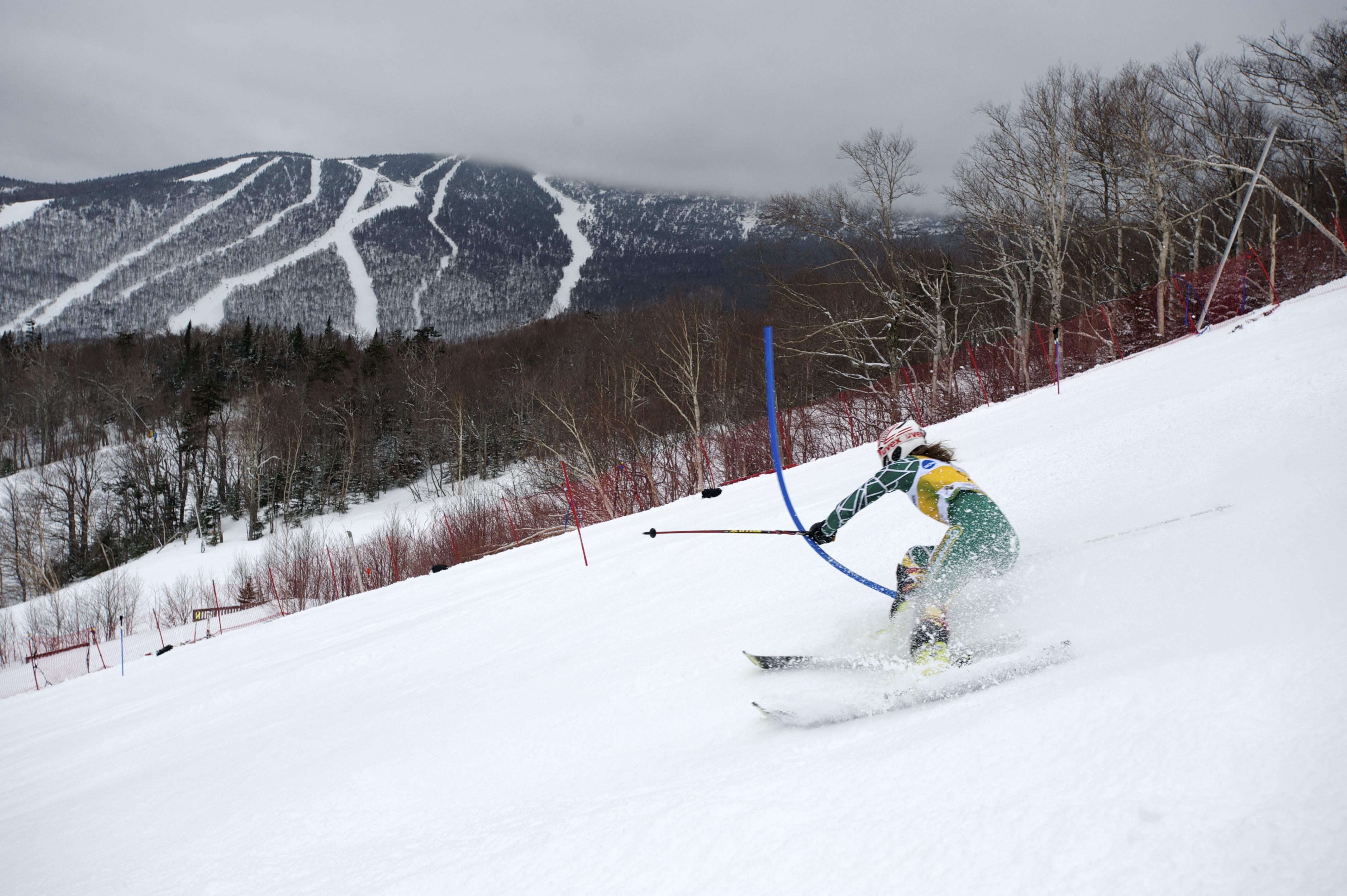 Ski town of Stowe, Vermont