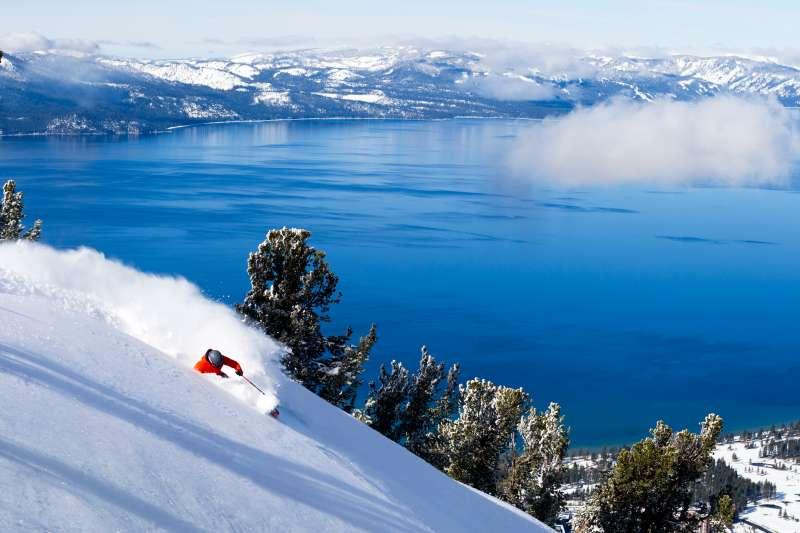 Heavenly Ski Resort in South Lake Tahoe, California.