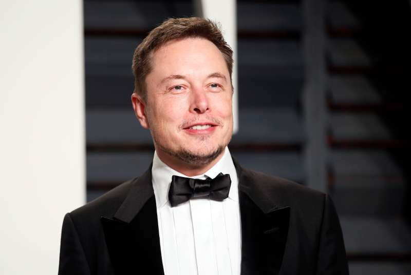 Elon Musk at the 89th Academy Awards - Oscars Vanity Fair Party, Beverly Hills, California, February 26, 2017.